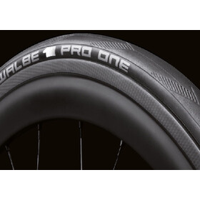 """SCHWALBE PRO ONE Tyre 28"""" Tubeless Easy Evolution Foldable, black"""